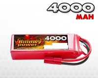Billowy power 6S 4000mAh 60C