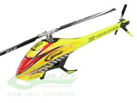 Goblin 380 Yellow/Orange (with 380mm Black line main blades)