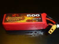 Billowy power 6S 1500mAh 45C