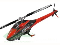 Goblin 380 Red/Black (with 380mm Black line main blades)